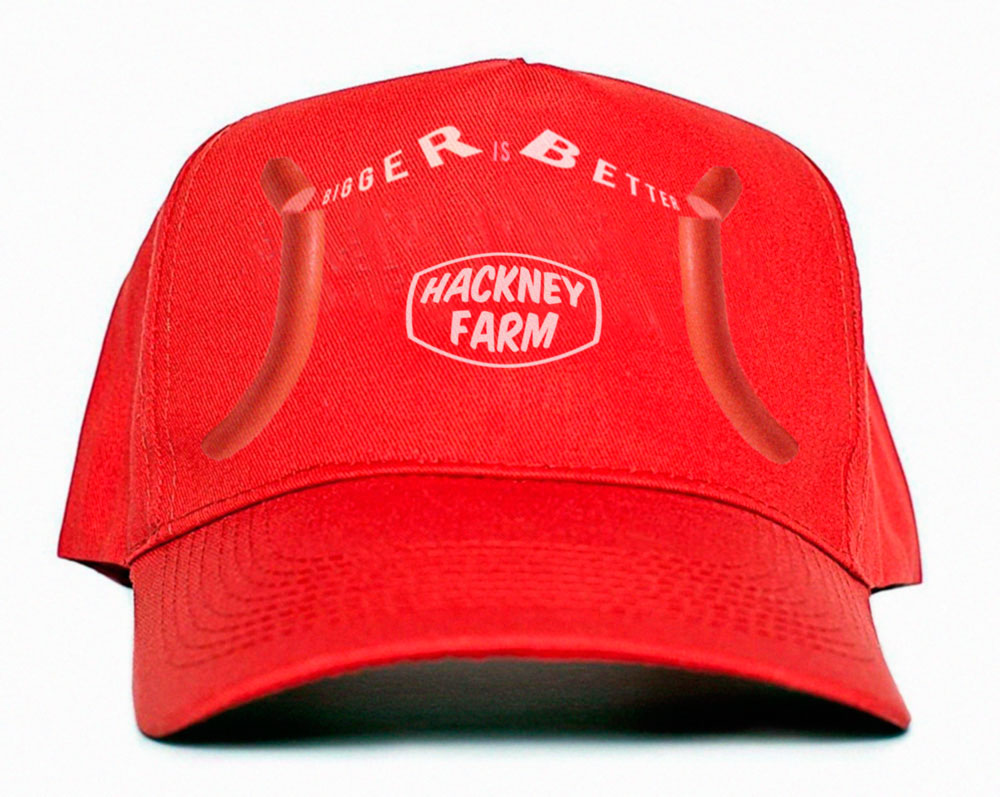 Hackney Farm Cap | promotion | Bigger is Better | Michael Croft | Isonerv
